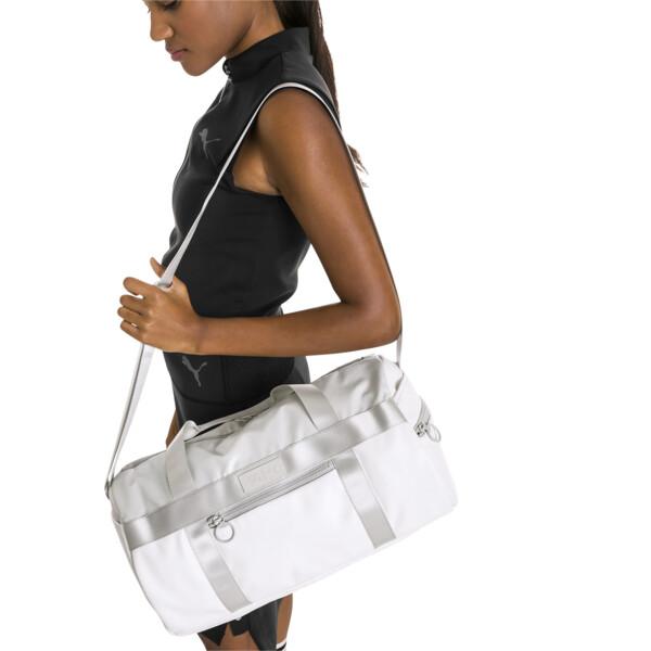 SG x PUMA Style Barrel Bag, Puma White, large