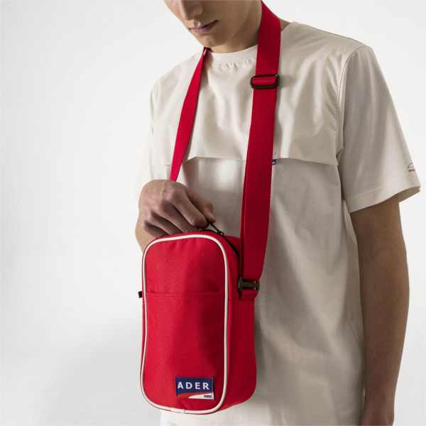 PUMA x ADER ERROR Portable Bag, Puma Red, large