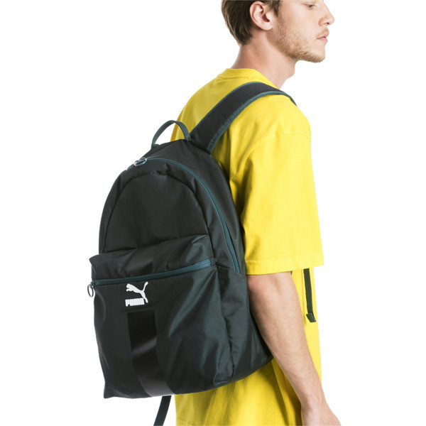 Originals Daypack, Ponderosa Pine-Black-White, large