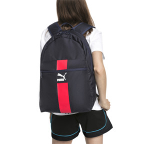Thumbnail 2 of Originals Daypack, Peacoat-High Risk Red-White, medium