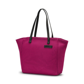 Thumbnail 1 of Prime Time Festival Large Shopper, Fuchsia Purple-Puma Black, medium