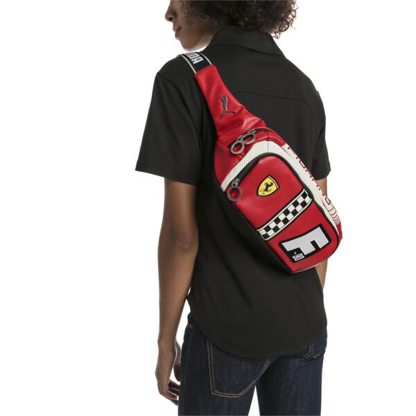 Scuderia Ferrari Fanwear Waist Bag, Rosso Corsa, large