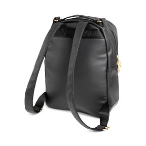 Thumbnail 2 of PUMA x KENZA Lux Women's Backpack, Puma Black-Gold, medium