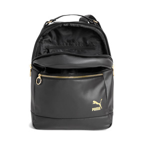 Thumbnail 3 of PUMA x KENZA Lux Women's Backpack, Puma Black-Gold, medium