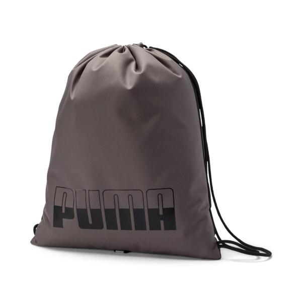 プーマ プラス ジムサック II (14.5L), Charcoal Gray-Puma Black, large-JPN