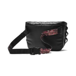 Thumbnail 4 of PUMA x LES BENJAMINS Waist Bag, Puma Black-AOP, medium