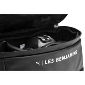Thumbnail 5 of PUMA x LES BENJAMINS Waist Bag, Puma Black-AOP, medium