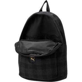 Thumbnail 2 of Check Backpack, Puma Black-Iron Gate-check, medium