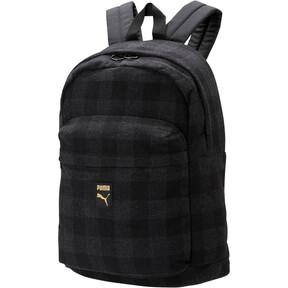 Thumbnail 1 of Check Backpack, Puma Black-Iron Gate-check, medium