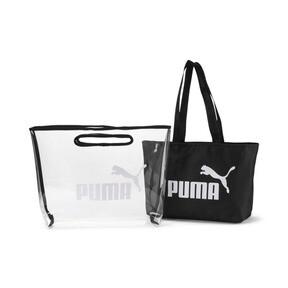Thumbnail 3 of Core Twin Shopper, Puma Black, medium