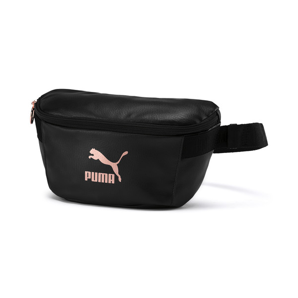 Women´s Z Waist Bag PU, Puma Black-Rose Gold, large