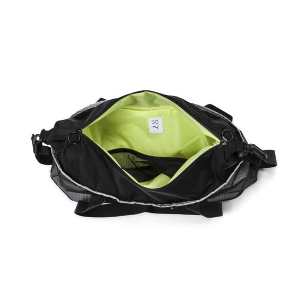 PUMA x SELENA GOMEZ Women's Sport Duffle Bag, Puma Black, large