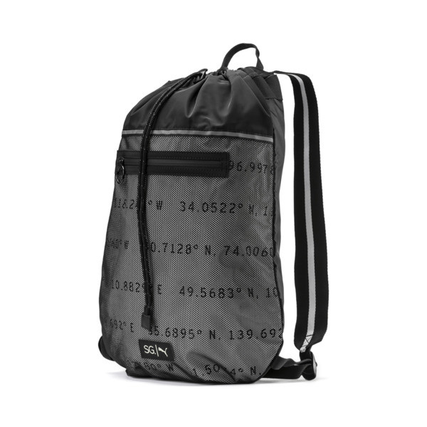 SG x PUMA Sport Smart Bag, Puma Black, large