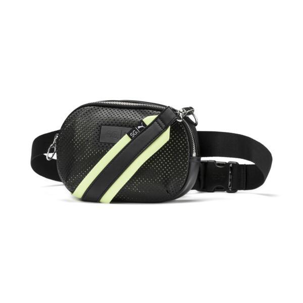 Bolso SG x PUMA Style para usar cruzado, Puma Black, grande