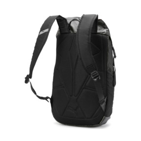 Thumbnail 3 of ftblNXT Backpack, Puma Black-Nrgy Red, medium