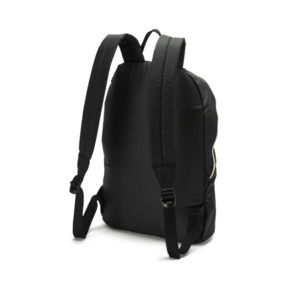 Thumbnail 2 of Core Seasonal Backpack, Puma Black-Gold, medium