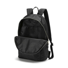 Thumbnail 4 of Core Seasonal Backpack, Puma Black-Gold, medium