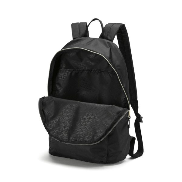 Core Seasonal Backpack, Puma Black-Gold, large