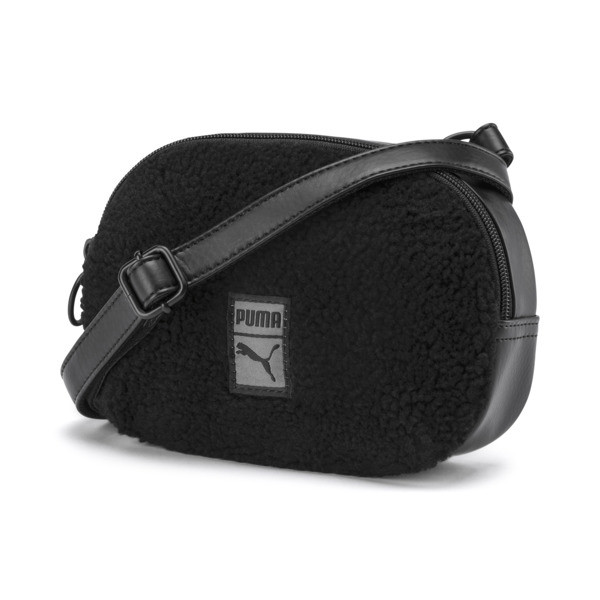 Prime Time Crossbody Bag, Puma Black-Puma Black, large