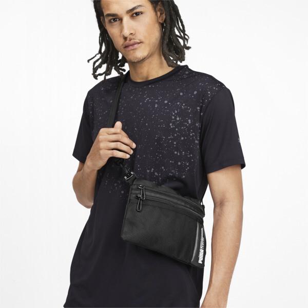 Energy Training Shoulder Bag, Puma Black, large