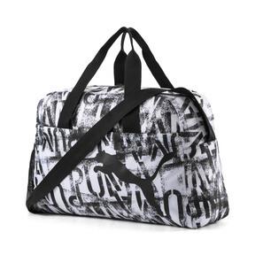 Thumbnail 1 of AT ESS Grip Bag, Puma White-Puma Black-AOP, medium
