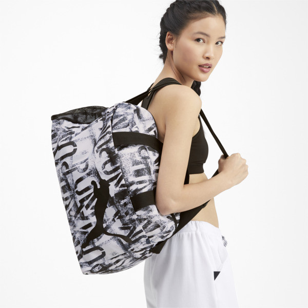 AT ESS Grip Bag, Puma White-Puma Black-AOP, large