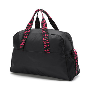 Thumbnail 3 of Active Training Essential Damen Henkeltasche, Puma Black-Pink Alert-AOP, medium