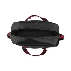 Thumbnail 4 of Active Training Essential Damen Henkeltasche, Puma Black-Pink Alert-AOP, medium