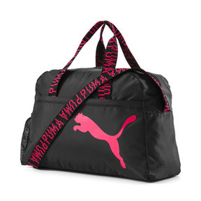 Thumbnail 1 of Active Training Essential Damen Henkeltasche, Puma Black-Pink Alert-AOP, medium