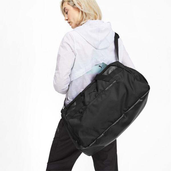 AT Sport Duffel Bag, Puma Black, large