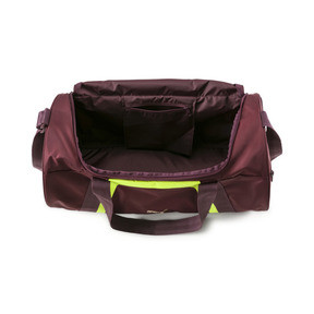 Thumbnail 4 of Active Training Shift Women's Duffel Bag, Vineyard Wine-Yellow Alert, medium