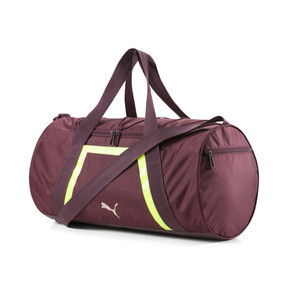 Thumbnail 1 of Active Training Shift Women's Duffel Bag, Vineyard Wine-Yellow Alert, medium