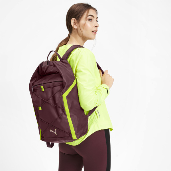 Active Training Shift Women's Backpack, Vineyard Wine, large