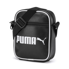 Thumbnail 1 of Campus Portable Retro Shoulder Bag, Puma Black, medium