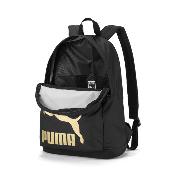 Originals Backpack, Puma Black, large