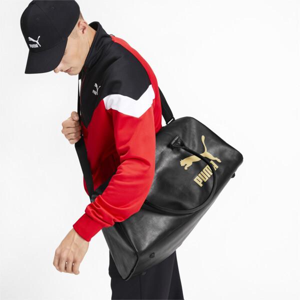 Bolsa de mano Originals Retro, Puma Black, grande