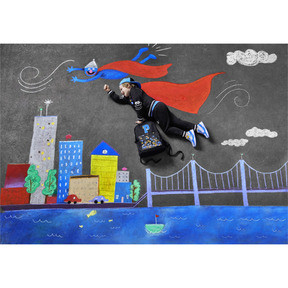 Imagen en miniatura 4 de Mochila deportiva de niño de Barrio Sésamo®, Puma Black, mediana