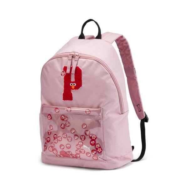 PUMA x SESAME STREET Kids' Sport Backpack, Bridal Rose, large