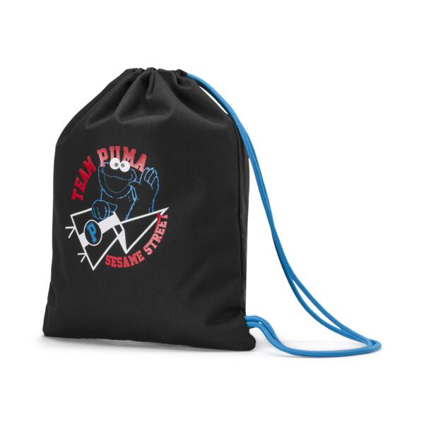 PUMA x SESAME STREET Kids' Sport Sack, Puma Black, large
