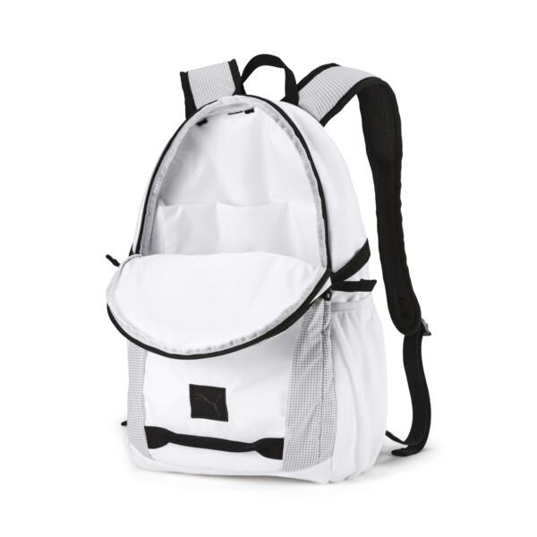 BMW M Motorsport Backpack, Puma White, large