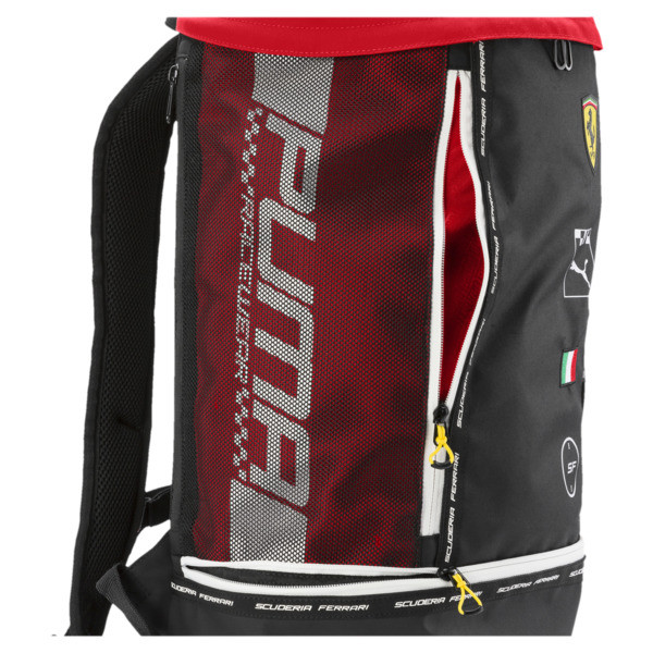 Scuderia Ferrari Fanwear RCT Backpack, Rosso Corsa, large