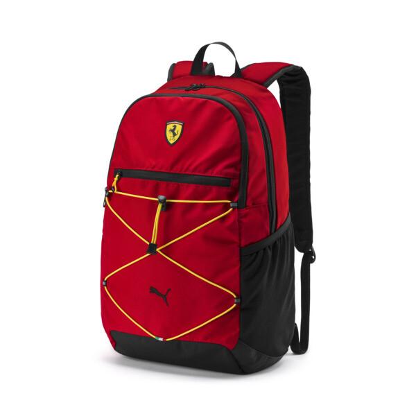 Mochila Scuderia Ferrari para fanáticos, Rosso Corsa, grande