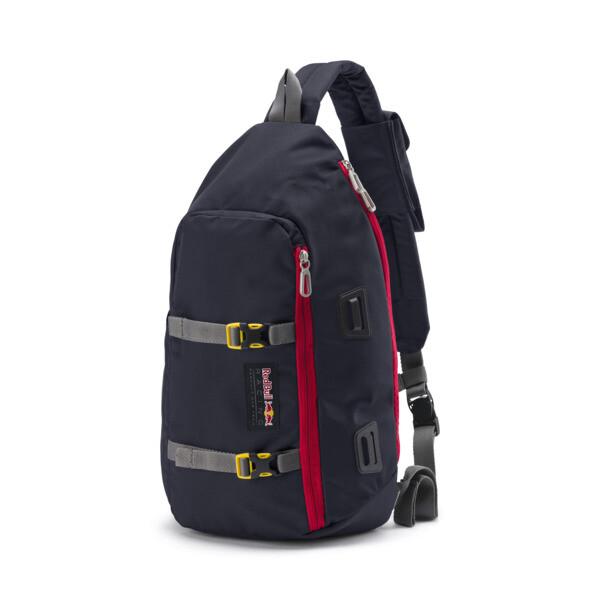 Red Bull Racing Lifestyle Street Sling Bag, NIGHT SKY, large