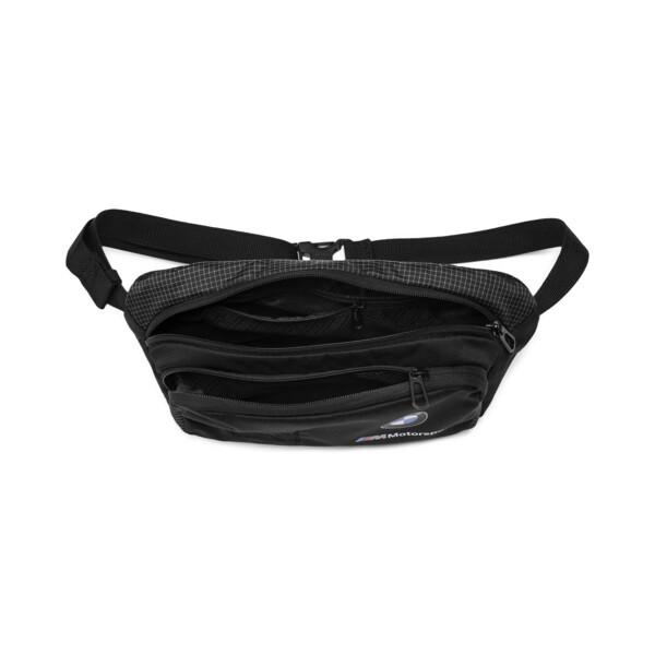 BMW M Motorsport Waist Bag, Puma Black, large