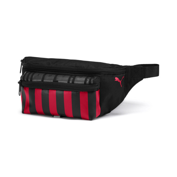 AC Milan Football Culture Gürteltasche, Puma Black-Tango Red, large