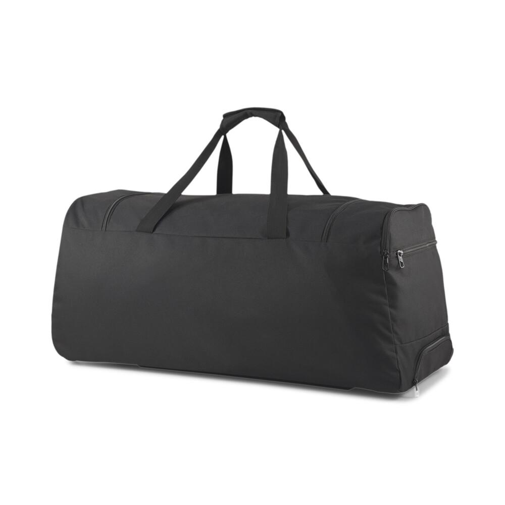 Image PUMA teamGOAL Large Wheeled Duffel Bag #2