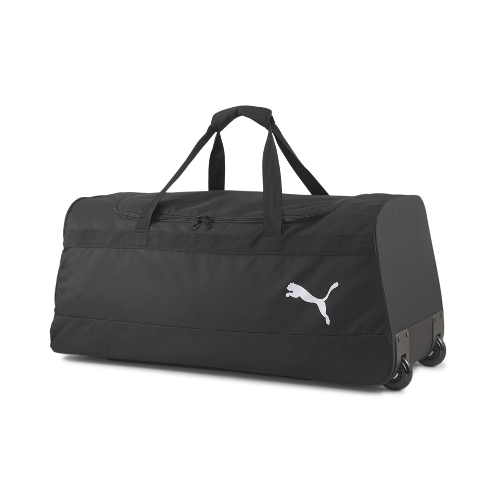 Image PUMA teamGOAL Large Wheeled Duffel Bag #1