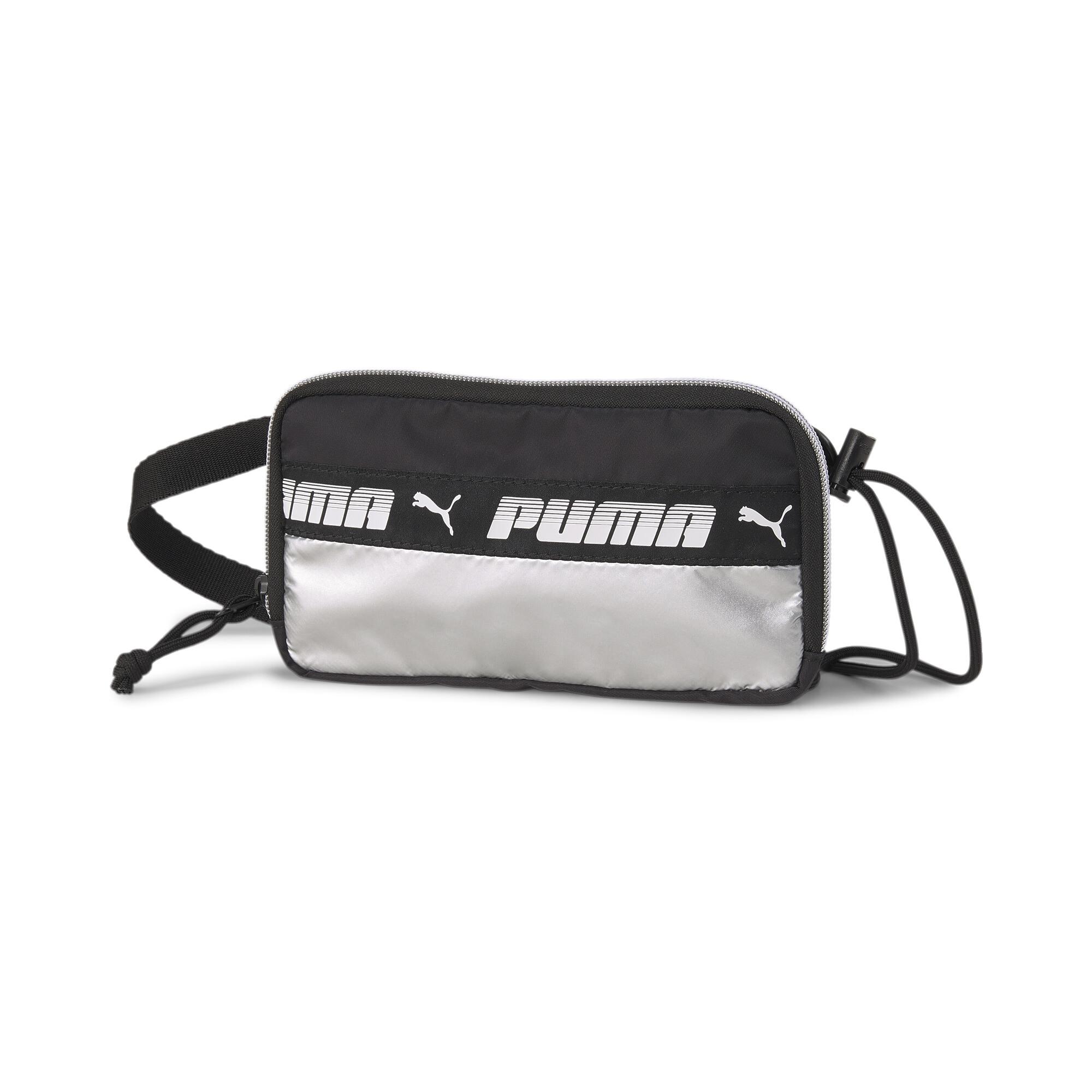 【プーマ公式通販】 プーマ プライム スリング ウィメンズ ポーチ マイル ライダー 0.5L ウィメンズ Puma Black-Silver |PUMA.com