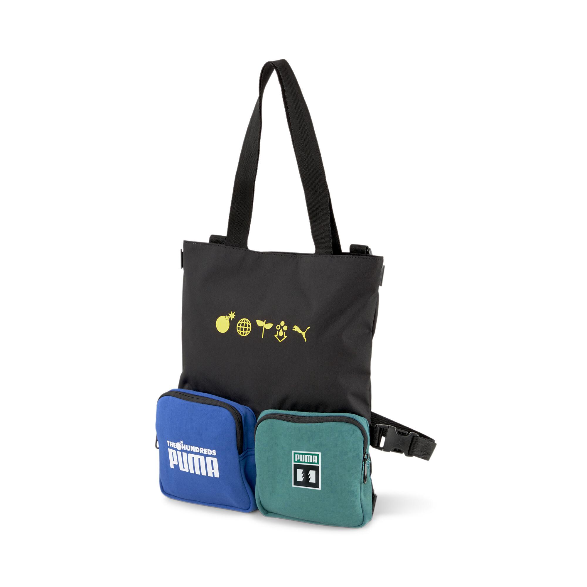 【プーマ公式通販】 プーマ PUMA x THE HUNDREDS コンバーティブル ショルダー バッグ 9L ユニセックス Puma Black |PUMA.com