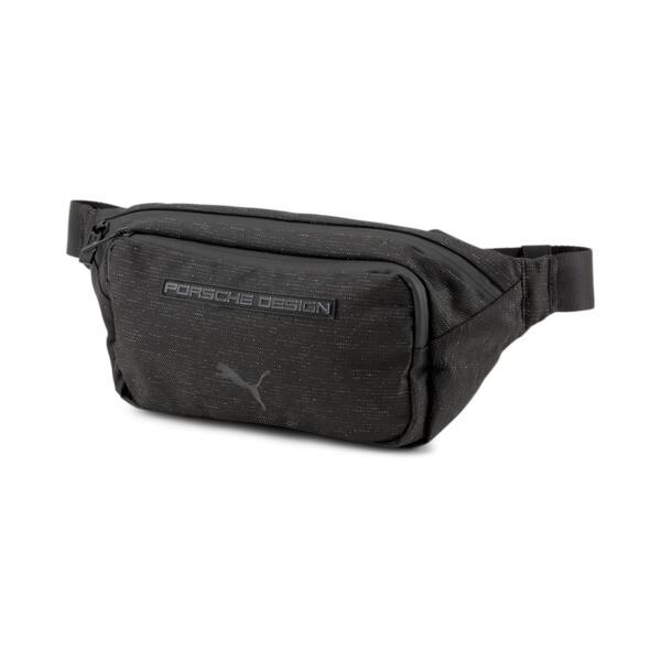 puma porsche design crossbody bag in jet black
